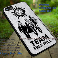 Supernatural Team Free Will and Anti Possession iPhone 6s 6 6s+ 5c 5s Cases Samsung Galaxy s5 s6 Edge+ NOTE 5 4 3 #movie #supernatural #superwholock #sherlock #doctorWho dt