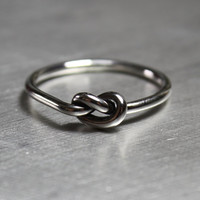 Knot Ring, Promise Ring, Best Friends Ring