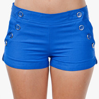 A'GACI Multi Button Short - BOTTOMS