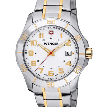 WENGER Alpine Analog Stainless Steel Water Resistant Watch