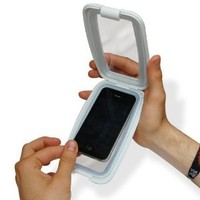 Thumbs Up UK Aqua Phone Case for iPhone 4 - Retail Packaging - White
