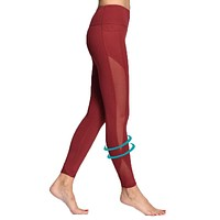 Women Tights Sexy Yoga Capri with Pocket for Workout Gym Jogging