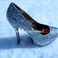 Platform Pump, High Heels Crystal Bridal Wedding, Party, Prom Shoes