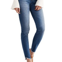Madewell 10-Inch High-Rise Tulip-Hem Skinny Jeans (Somerset) | Nordstrom