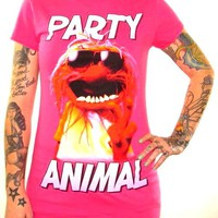 Muppets Girls T-Shirt - Party Animal