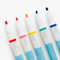 Five Pack Double Tip Pens