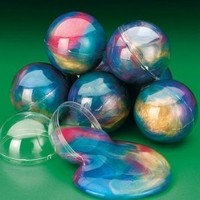 Fun Express -Rainbow Putty Balls, Decorative Highlights, (1-Pack of 12)