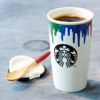 Starbucks Band of Outsiders Limited Double Wall Ceramic Traveler (11038712):Amazon:Kitchen & Dining