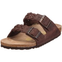 Birkenstock Sandals ''Arizona'' from Leather in Braided Habana 35.0 EU W