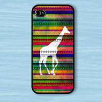 brcase — Giraffe on aztec : For Iphone 4/4s ,5 / Samsung S2,3,4