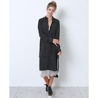 Be Classic Always Shirt Dress - Black