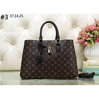 LV FLEUR TOTE 2019 new old flower lock bag female handbag shoulder diagonal package #3