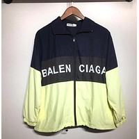BALENCIAGA Newest Hot Sale Zipper Cardigan Sweatshirt Jacket Coat Windbreaker Sportswear 4#