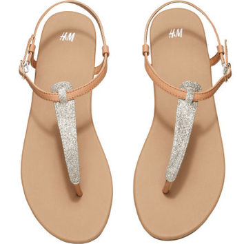H&M - Strappy Sandals -
