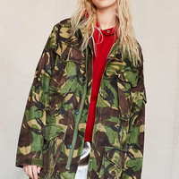 Vintage Woodland Camo Surplus Jacket - Urban Outfitters