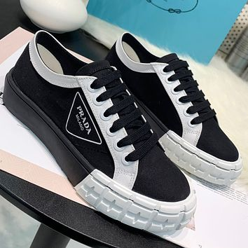 Prada Women Fashion Casual Sneakers Sport Shoes