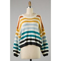 Caroline Stripe Sweater