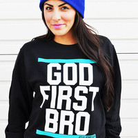 JCLU Forever Christian t-shirts — GODFIRSTSWEATER