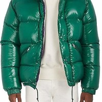 Moncler Oversized Tech Taffeta Puffer Coat