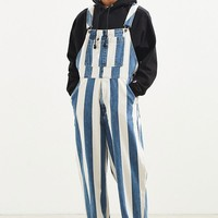 Levi's Silvertab Stripe Denim Overall | Urban Outfitters