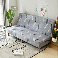 None Arms Sofa Covers Couch Cover Elastic Slipcover Protector For Summer