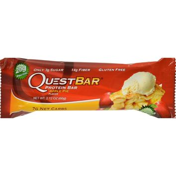 Quest Bar - Apple Pie - 2.12 Oz - Case Of 12