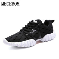 Women Shoes Patchwork Lace Up Fashion Mesh Breathable Casual Shoes Woman  Breathable Outdoor Walking Women Flats J92901W