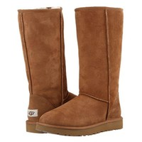 Ugg Women Fashion Wool Snow Boots Simple High Boots