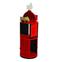 Levels of Discovery Firefighter Revolving Bookcase - LOD20037