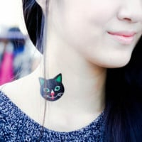 Tattoo Stickers: Black Kitty & More (6 patterns)