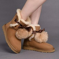 UGG 1018517 Chestnut Classic Gita Sheepskin Boot Snow Boots