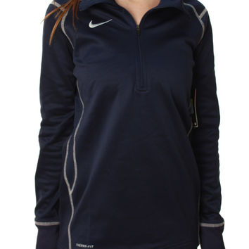 Nike Women's Performance Therma-Fit Half Zip Soccer Jacket