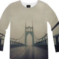 St. John's Bridge created by Leah Flores | Print All Over Me