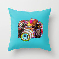 Picture This Throw Pillow by Bianca Green
