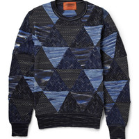 Missoni - Patchwork Cotton and Wool-Blend Sweater | MR PORTER