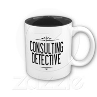 The World's Only Consulting Detective Mug from Zazzle.com