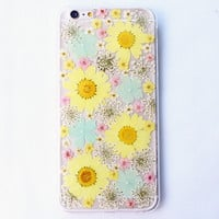 Flower Gardens  Iphone Cases for 5S 6 S Plus