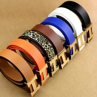 Hermes Multicolor Women Men Belt B104466-1 Seven Color Belt