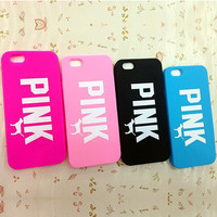 2016 New Fashion Victoria/'s Secret PINK Luxe Soft Silicone Cartoon Case Phone Cases Cover skin for Apple iPhone 6 Case 4.7 inch