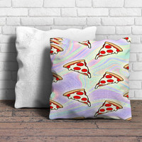 Tie Dye Pizza Slices Pillow | Aneend