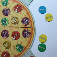 Vintage Parker Brothers Pizza Party Board Game 1987