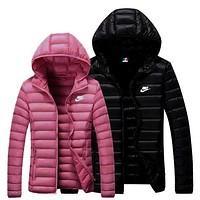 love q333 NIKE Women Men Lover Cardigan Jacket Coat