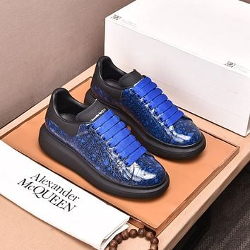 Alexander McQueen 2021 Woman's Men's 2021 New Fashion Casual Shoes Sneaker Sport Running Shoes10160wk