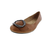 Naturalizer Womens Grade Leather Belted Round-Toe Shoes