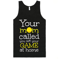 Your Mom Called you left your game at home Softball Chopped Sweatshirt