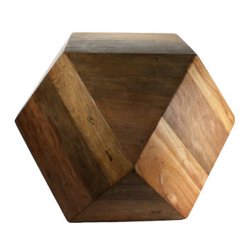 Natural Wood Block - Large