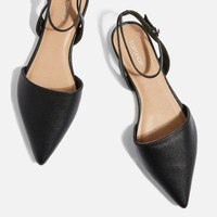 Annie Two Part Backless Shoes