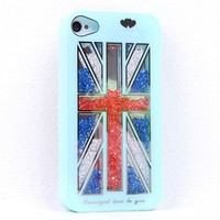 new Cool The Union Jack Sliding Hard Cover Iphone 4/4s Case