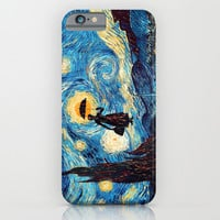 Mary Popins Starry Night oil painting iPhone & iPod Case by Greenlight8