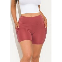 Good Choice Biker Short Mauve
